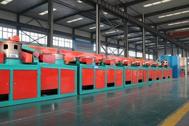 Aluminum Alloy 560mm Straight Line Wire Drawing Machine